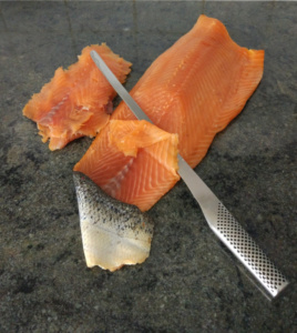 saumon fumé bio